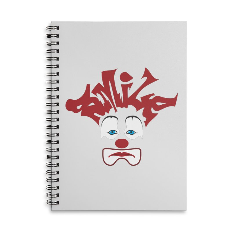 sMiLe Accessories Lined Spiral Notebook by Peregrinus Creative