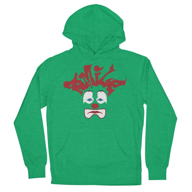 sMiLe Men's French Terry Pullover Hoody by Peregrinus Creative