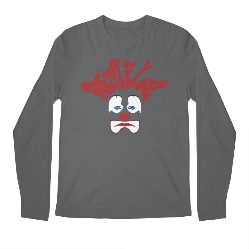 sMiLe Men's Regular Longsleeve T-Shirt by Peregrinus Creative