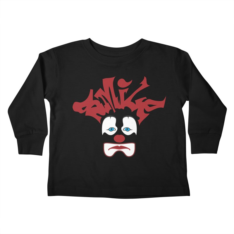 sMiLe Kids Toddler Longsleeve T-Shirt by Peregrinus Creative