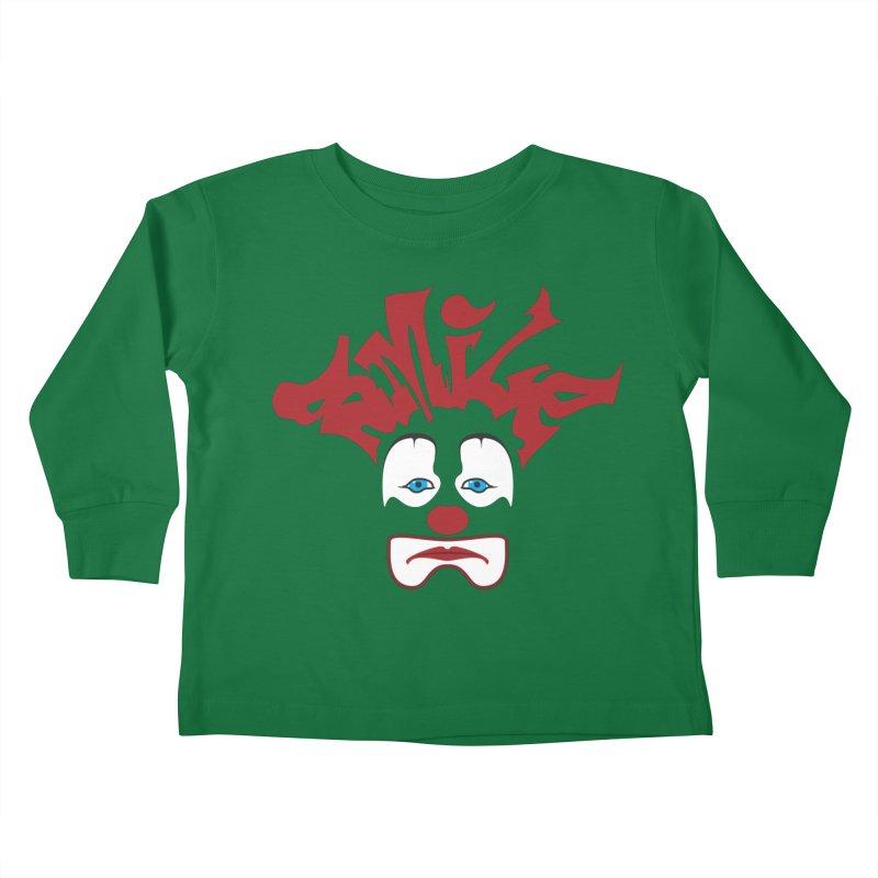 sMiLe Kids Toddler Longsleeve T-Shirt by Peregrinus Creative