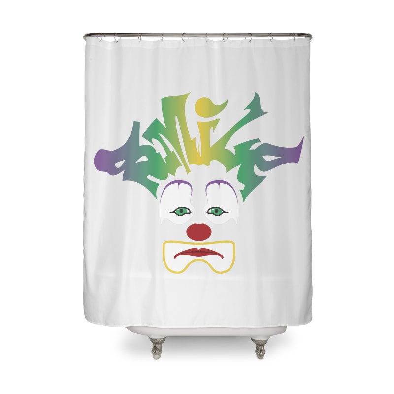 Mardi Gras sMiLe Home Shower Curtain by Peregrinus Creative