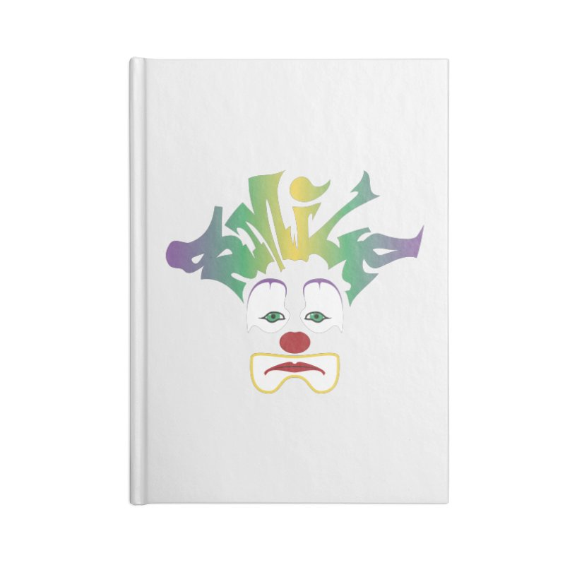 Mardi Gras sMiLe Accessories Blank Journal Notebook by Peregrinus Creative