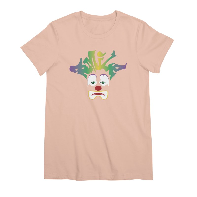 Mardi Gras sMiLe Women's Premium T-Shirt by Peregrinus Creative