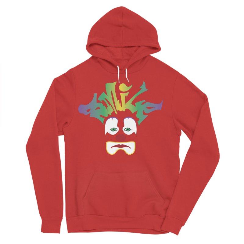 Mardi Gras sMiLe Women's Sponge Fleece Pullover Hoody by Peregrinus Creative