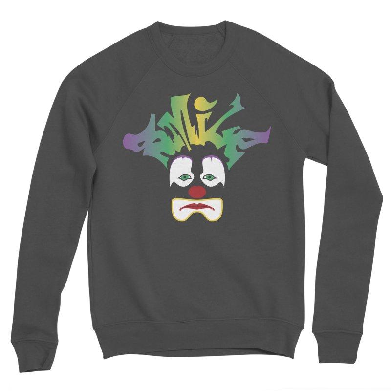 Mardi Gras sMiLe Men's Sponge Fleece Sweatshirt by Peregrinus Creative