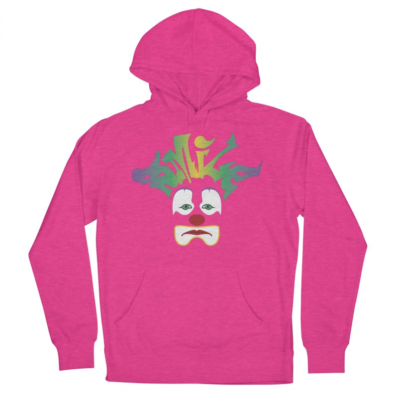 Mardi Gras sMiLe Women's French Terry Pullover Hoody by Peregrinus Creative