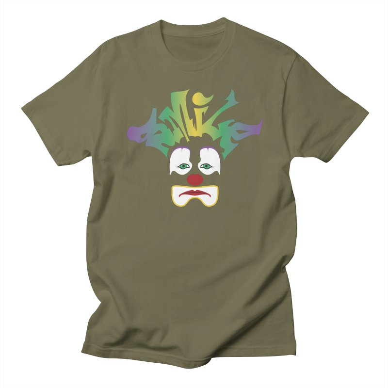 Mardi Gras sMiLe Women's Regular Unisex T-Shirt by Peregrinus Creative
