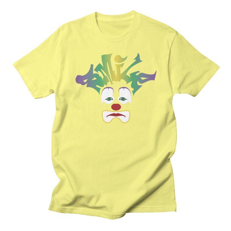 Mardi Gras sMiLe Women's Regular Unisex T-Shirt by Peregrinus Creative