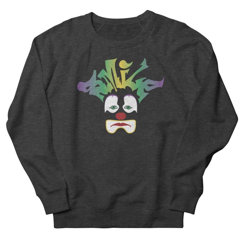 Mardi Gras sMiLe Men's French Terry Sweatshirt by Peregrinus Creative