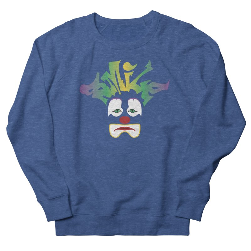 Mardi Gras sMiLe Men's French Terry Sweatshirt by Peregrinus Creative