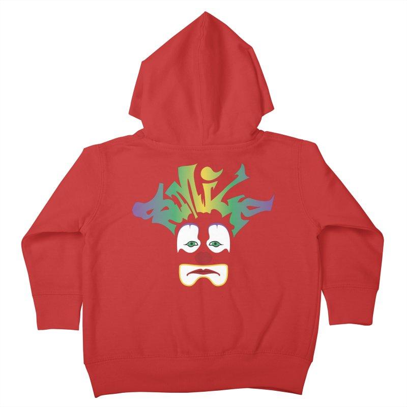 Mardi Gras sMiLe Kids Toddler Zip-Up Hoody by Peregrinus Creative