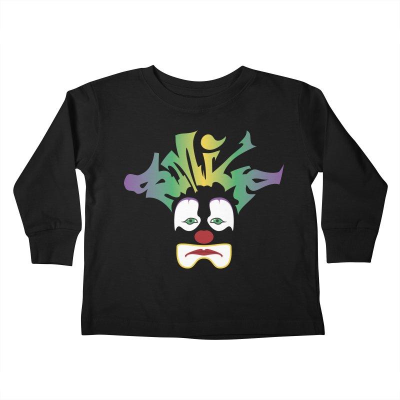Mardi Gras sMiLe Kids Toddler Longsleeve T-Shirt by Peregrinus Creative