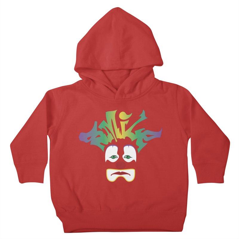 Mardi Gras sMiLe Kids Toddler Pullover Hoody by Peregrinus Creative