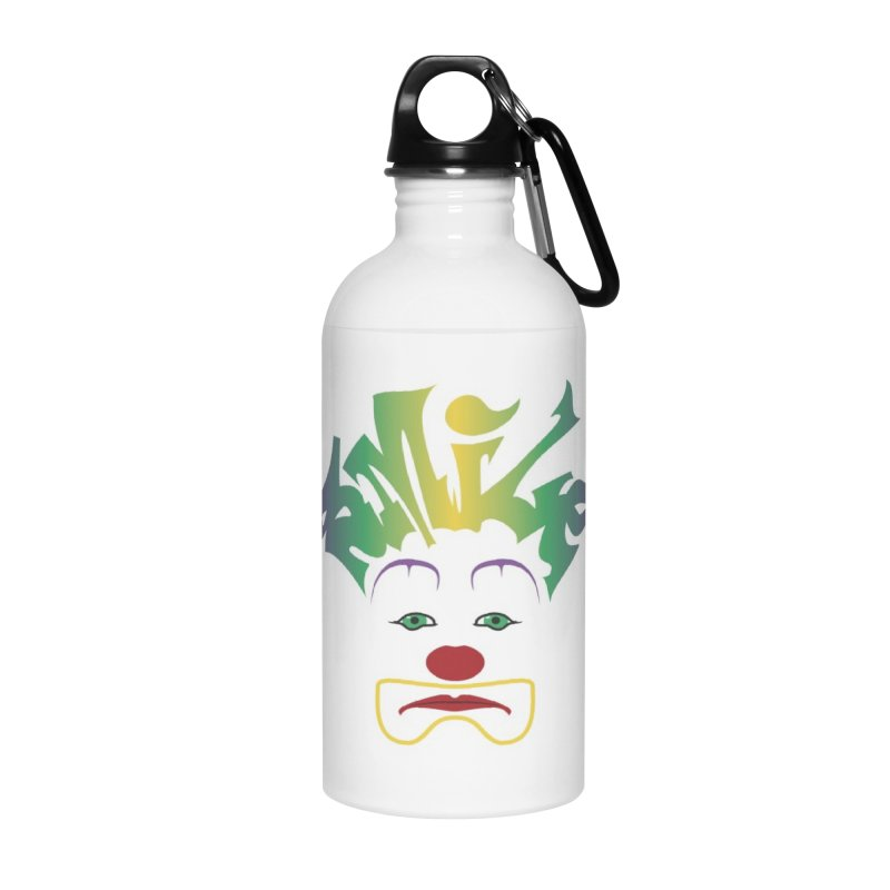 Mardi Gras sMiLe Accessories Water Bottle by Peregrinus Creative