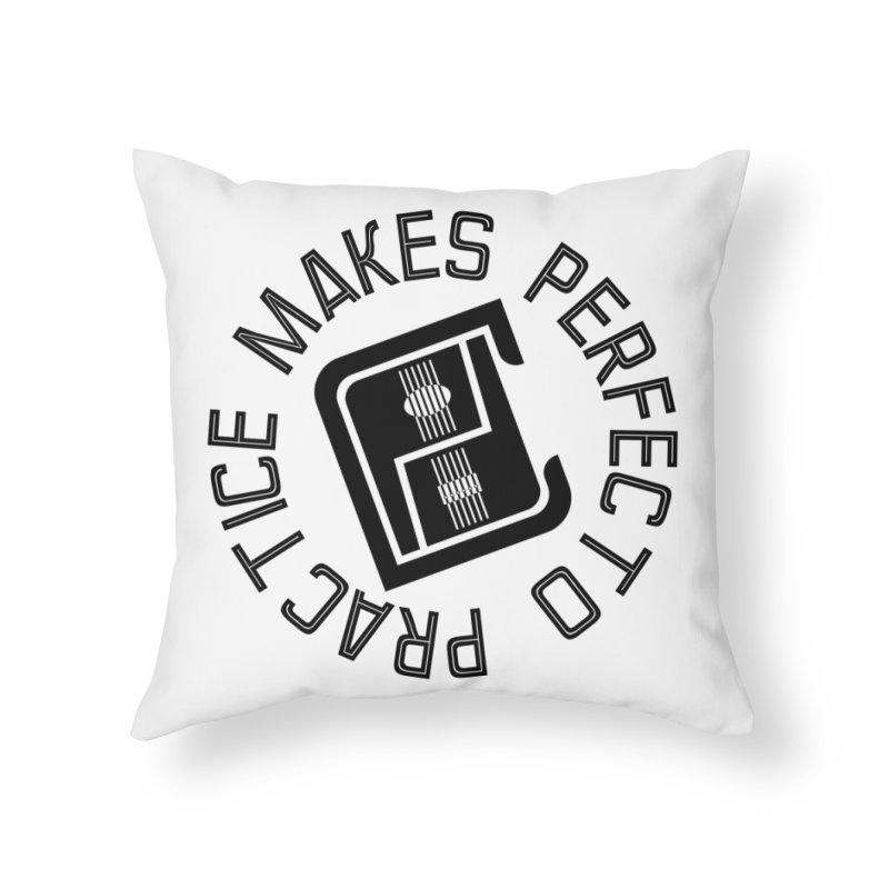 PMP Circle Home Throw Pillow by Perfecto De Castro's Artist Shop
