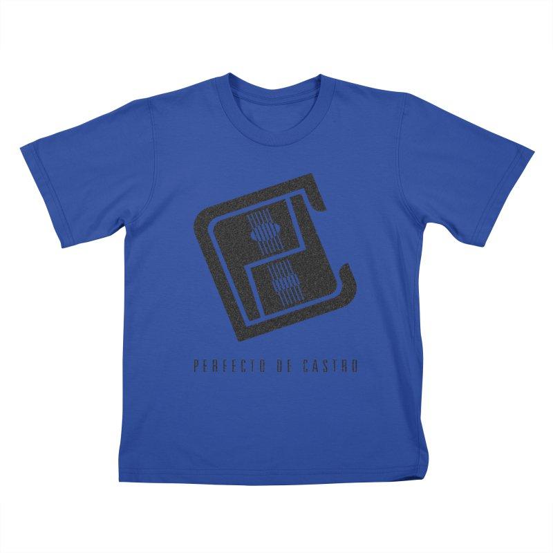 PDC Logo Kids T-Shirt by Perfecto De Castro's Artist Shop