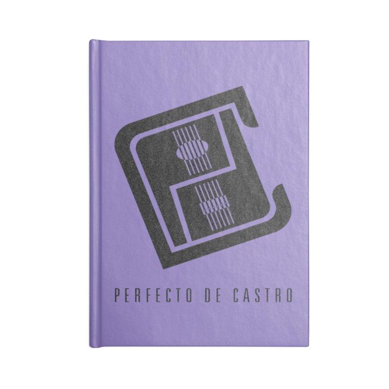PDC Logo Accessories Notebook by Perfecto De Castro's Artist Shop