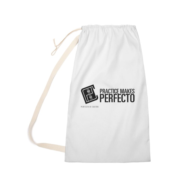 Practice Makes Perfecto Accessories Bag by Perfecto De Castro's Artist Shop