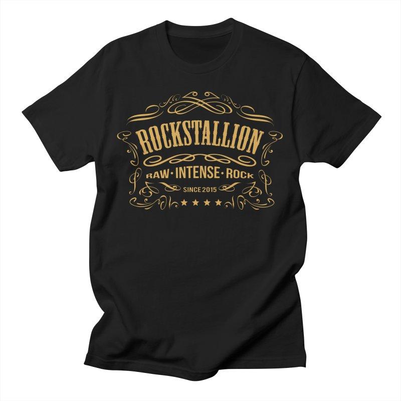 RockStallion Vintage Men's T-Shirt by Perfecto De Castro's Artist Shop