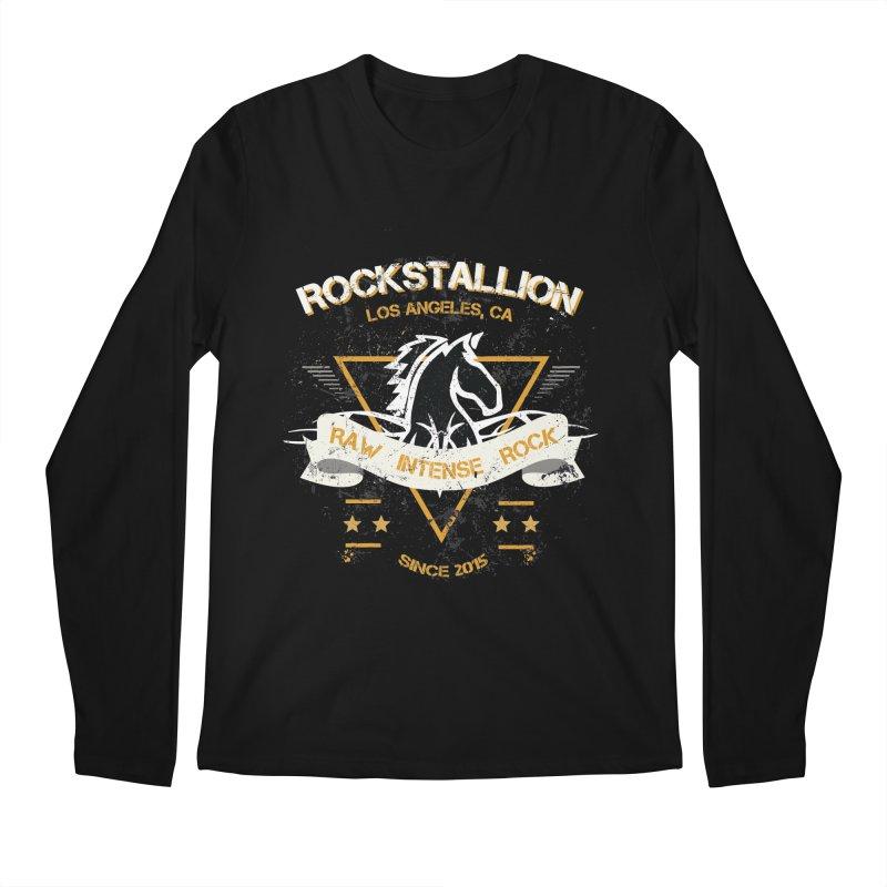 RockStallion Dirty Badge Men's Longsleeve T-Shirt by Perfecto De Castro's Artist Shop