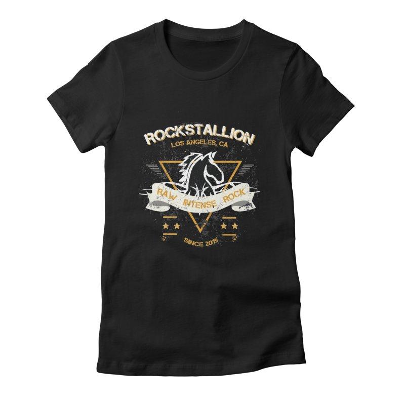 RockStallion Dirty Badge Women's T-Shirt by Perfecto De Castro's Artist Shop