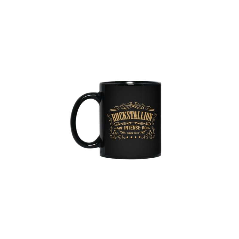 RockStallion Vintage Black Mug by Perfecto De Castro's Artist Shop