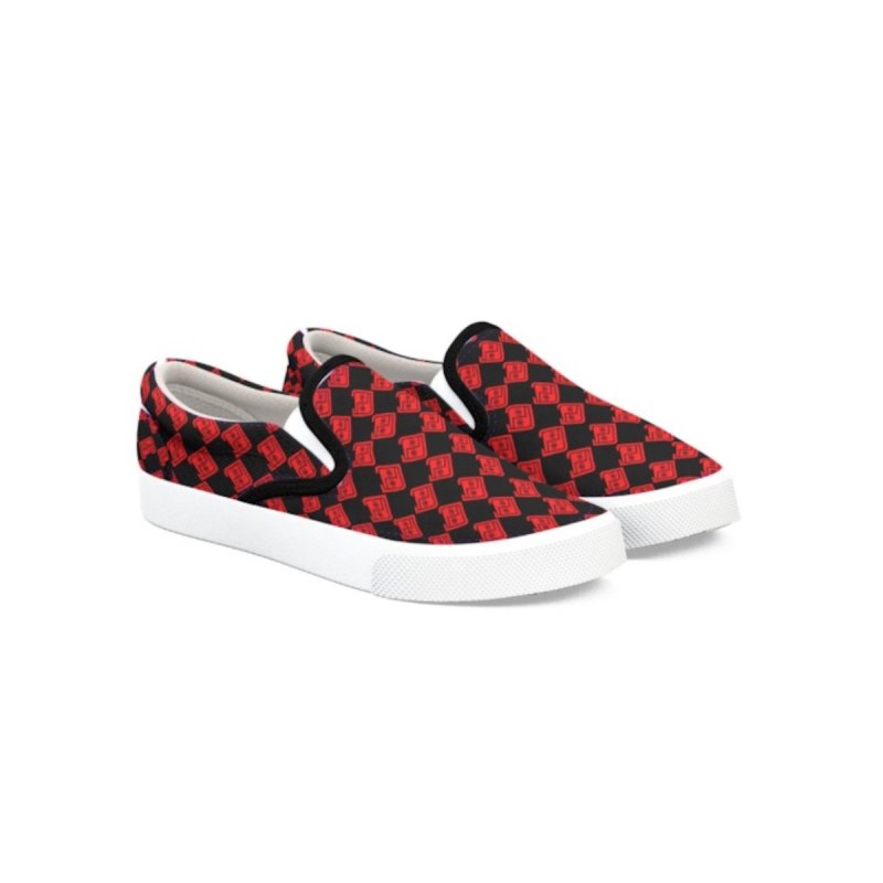 PDC Checkered Kicks B/R by Perfecto De Castro's Artist Shop