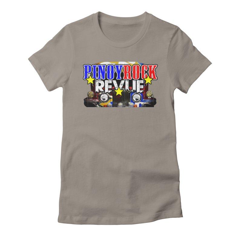 Pinoy Rock Revue Women's T-Shirt by Perfecto De Castro's Artist Shop