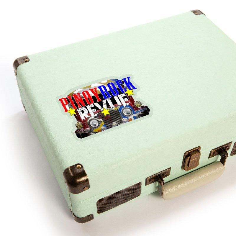Pinoy Rock Revue Accessories Sticker by Perfecto De Castro's Artist Shop