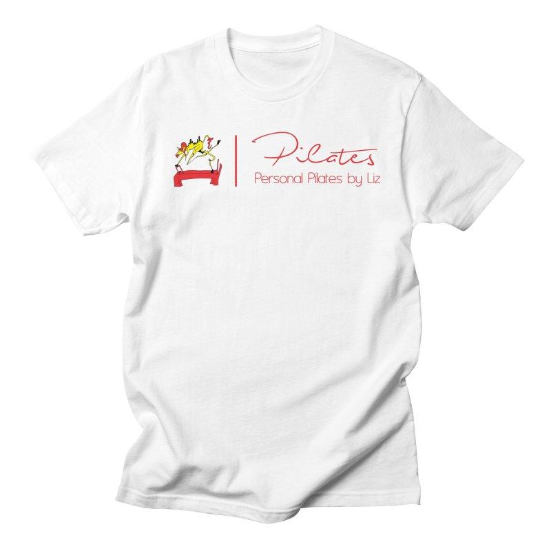 Personal Pilates by Liz Logo Men's T-Shirt by PersonalPilatesbyLiz's Artist Shop