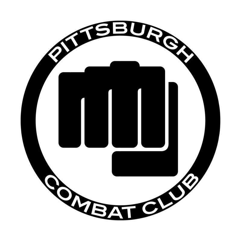 PCC - Black Logo, Centered by PghCombatClub's Artist Shop