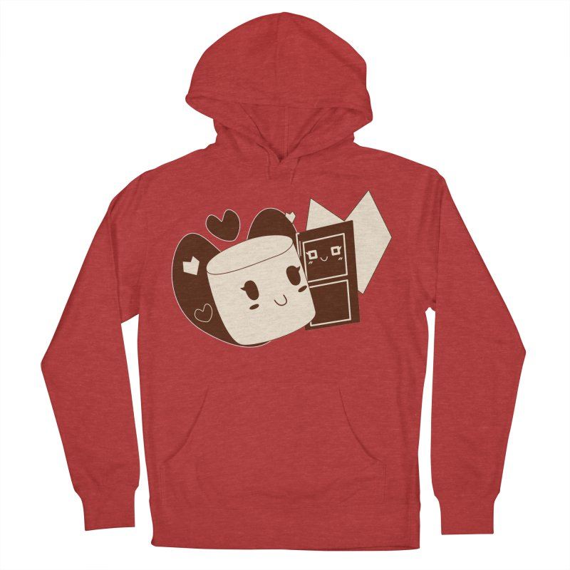 Chocolate Marshmallow Love Men's Pullover Hoody by Phancipy's Artist Shop
