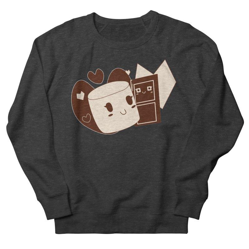 Chocolate Marshmallow Love Women's French Terry Sweatshirt by Phancipy's Artist Shop