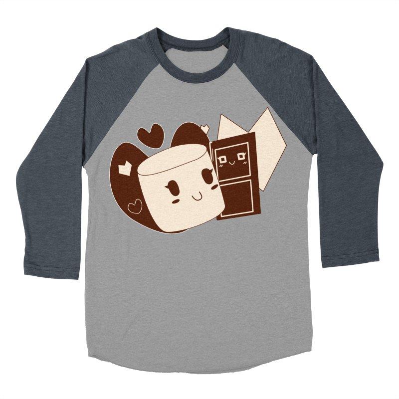 Chocolate Marshmallow Love Women's Baseball Triblend T-Shirt by Phancipy's Artist Shop