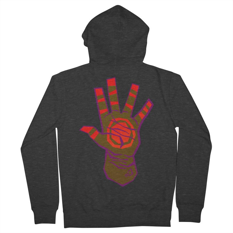 Mehndi Gone Wrong Men's French Terry Zip-Up Hoody by Phancipy's Artist Shop