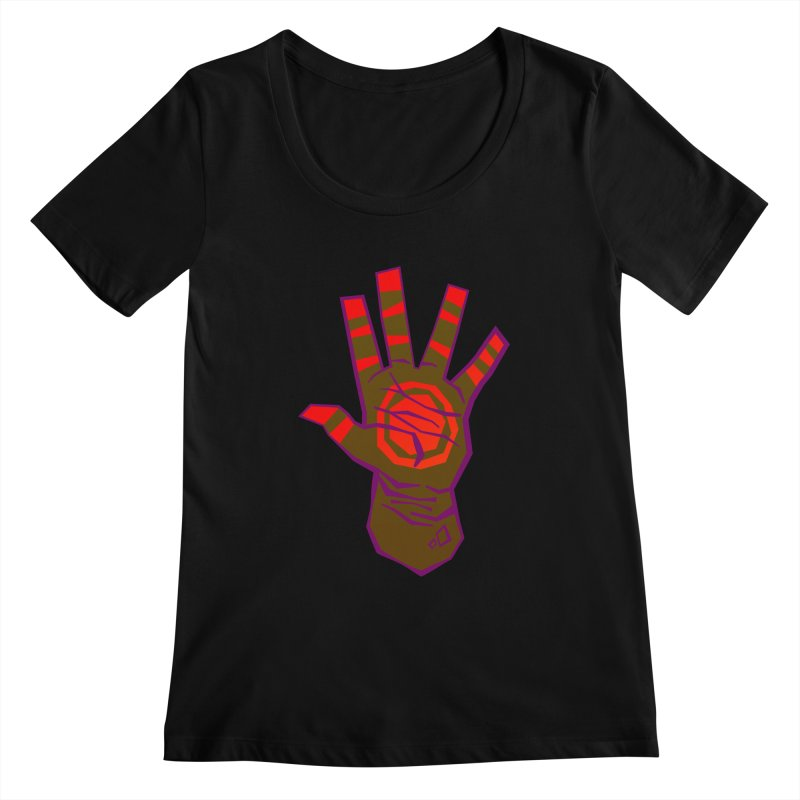Mehndi Gone Wrong Women's Scoopneck by Phancipy's Artist Shop