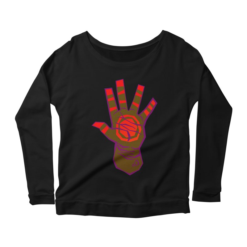 Mehndi Gone Wrong Women's Longsleeve Scoopneck  by Phancipy's Artist Shop