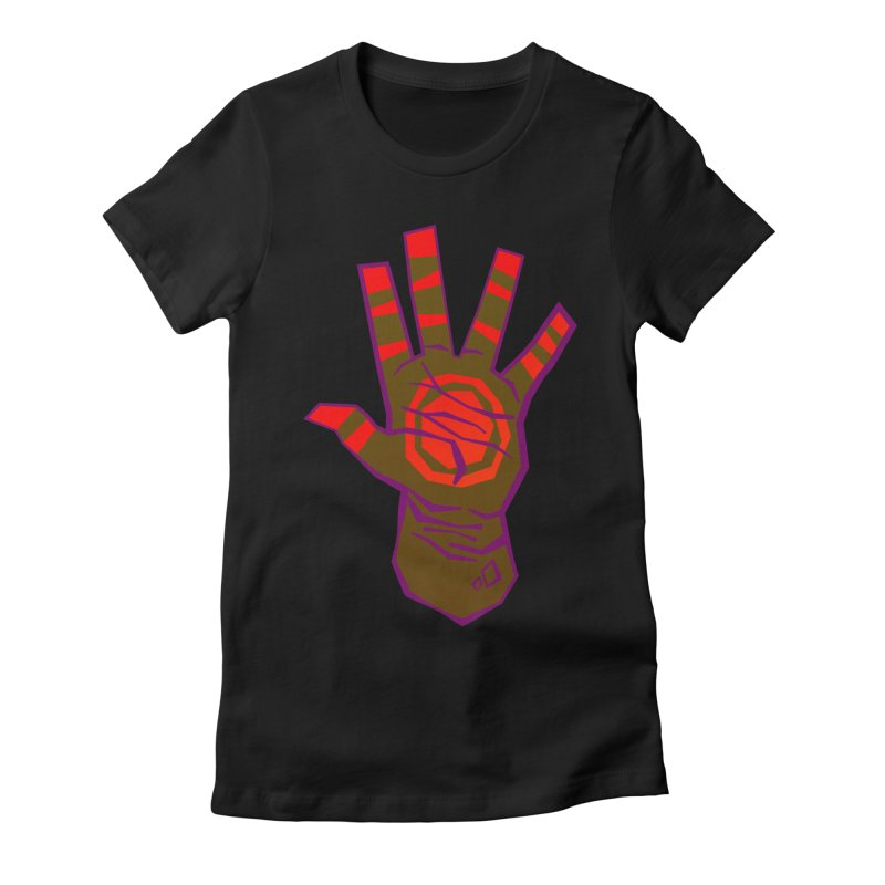 Mehndi Gone Wrong Women's Fitted T-Shirt by Phancipy's Artist Shop