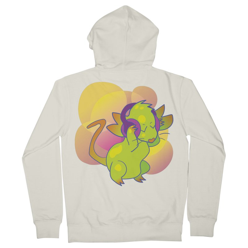 Fantasy Music Mouse Men's French Terry Zip-Up Hoody by Phancipy's Artist Shop