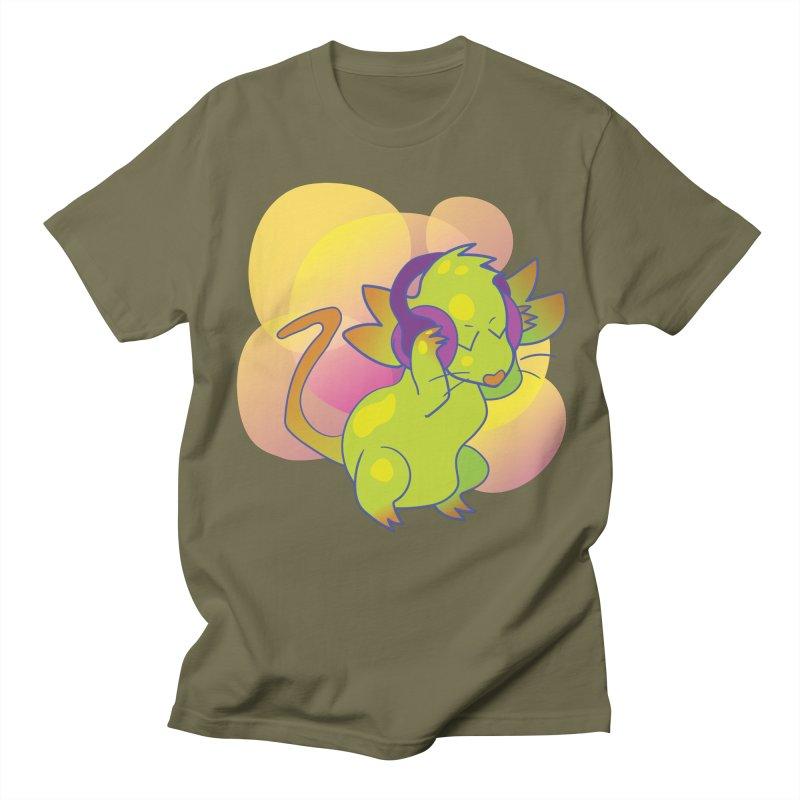 Fantasy Music Mouse Men's T-Shirt by Phancipy's Artist Shop