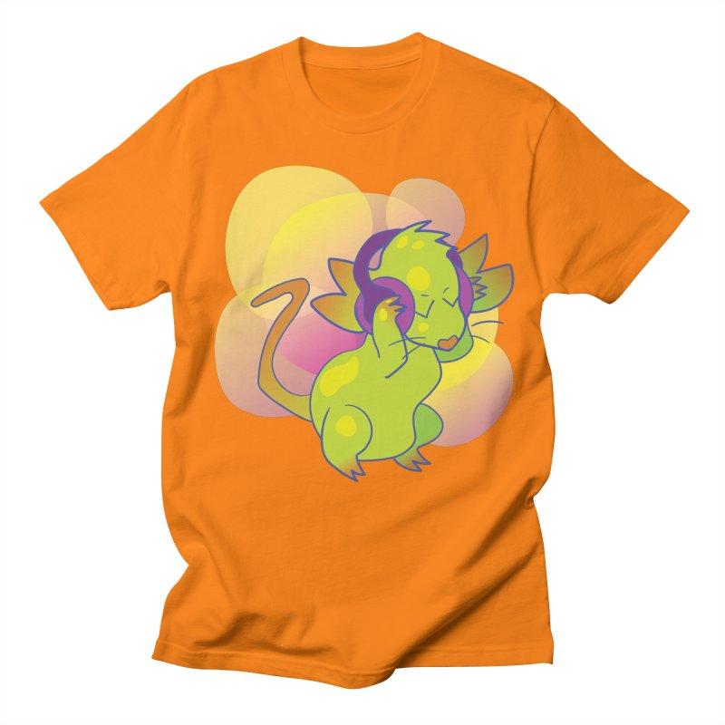 Fantasy Music Mouse Men's Regular T-Shirt by Phancipy's Artist Shop
