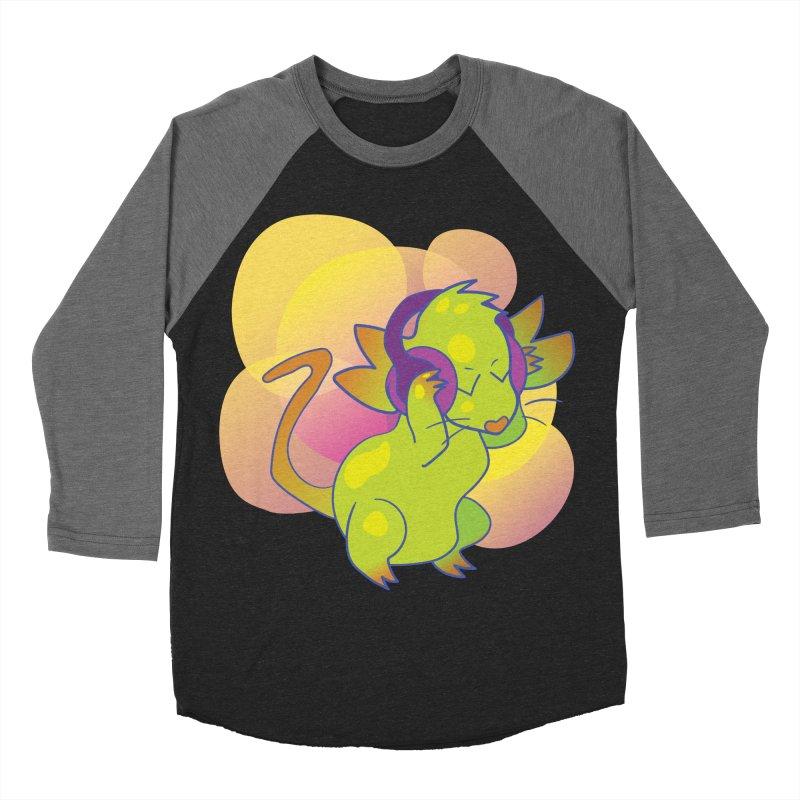 Fantasy Music Mouse Women's Baseball Triblend T-Shirt by Phancipy's Artist Shop