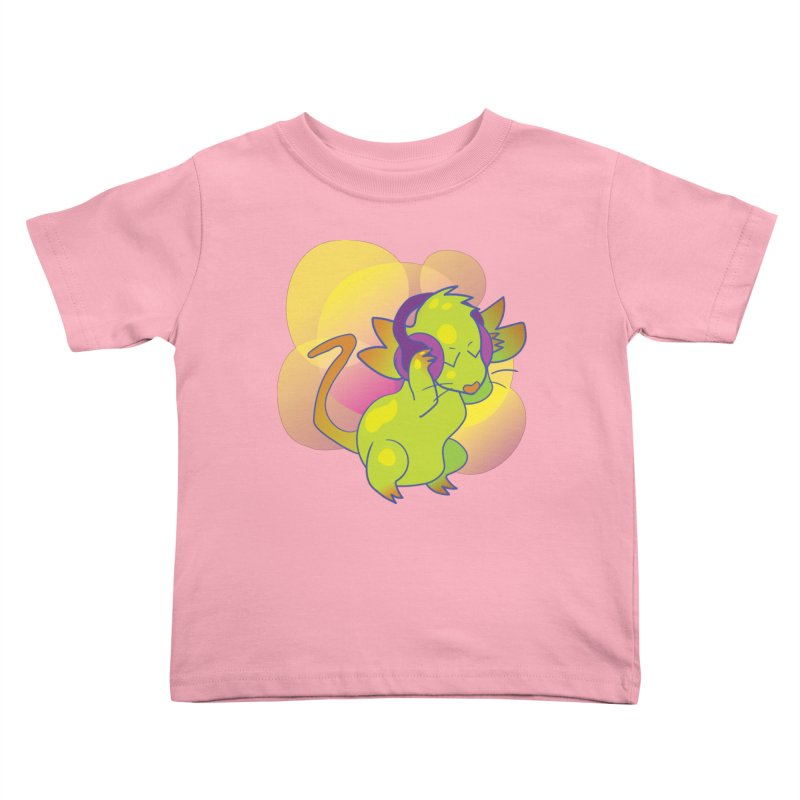 Fantasy Music Mouse Kids Toddler T-Shirt by Phancipy's Artist Shop
