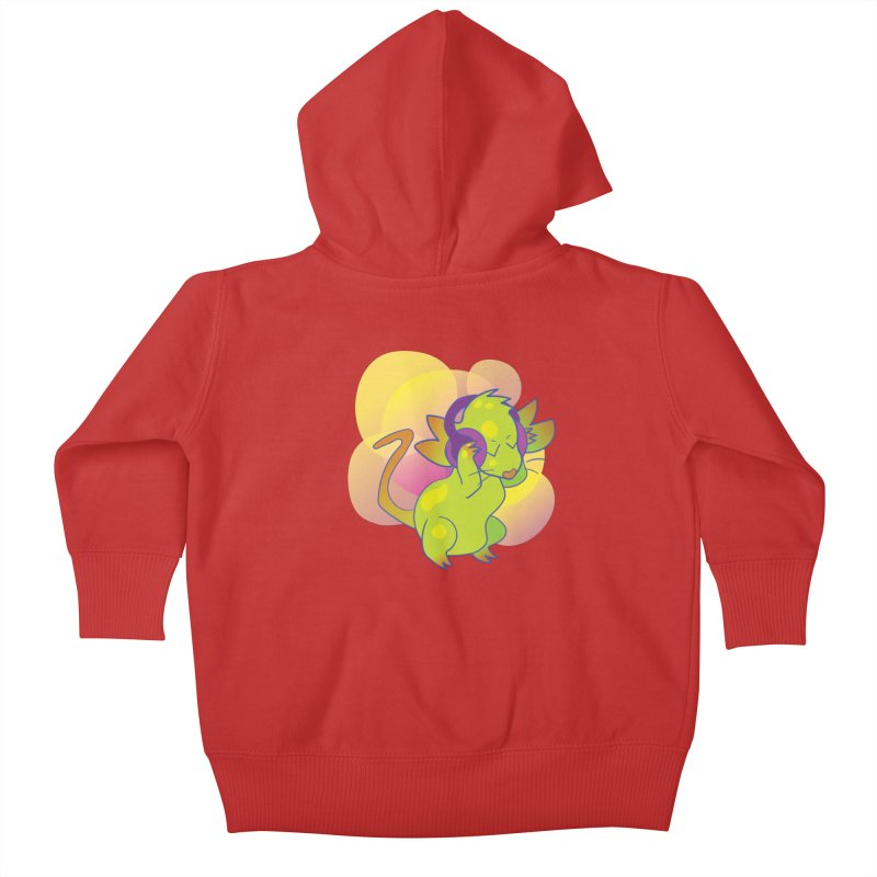 Fantasy Music Mouse Kids Baby Zip-Up Hoody by Phancipy's Artist Shop