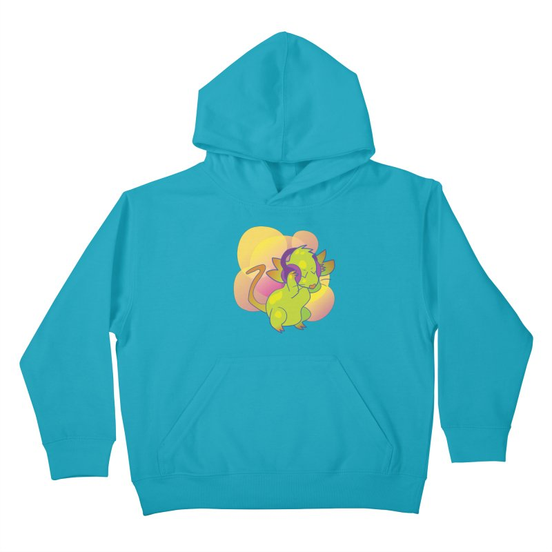 Fantasy Music Mouse Kids Pullover Hoody by Phancipy's Artist Shop