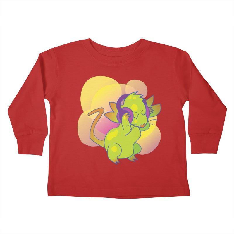 Fantasy Music Mouse Kids Toddler Longsleeve T-Shirt by Phancipy's Artist Shop