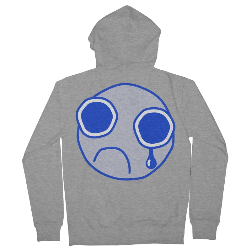 Tfw Sad Face Men's French Terry Zip-Up Hoody by Phancipy's Artist Shop