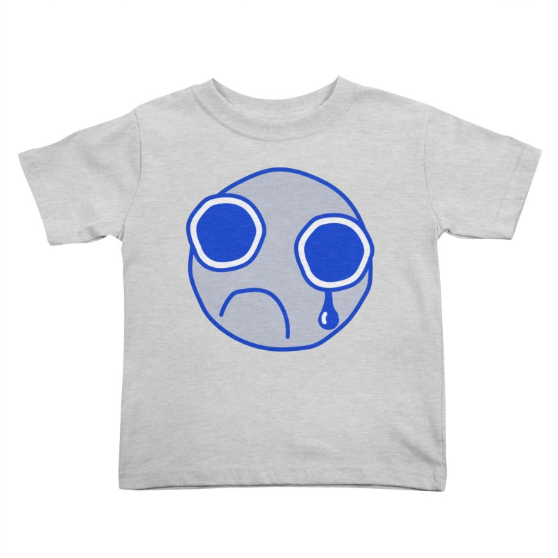 Tfw Sad Face Kids Toddler T-Shirt by Phancipy's Artist Shop