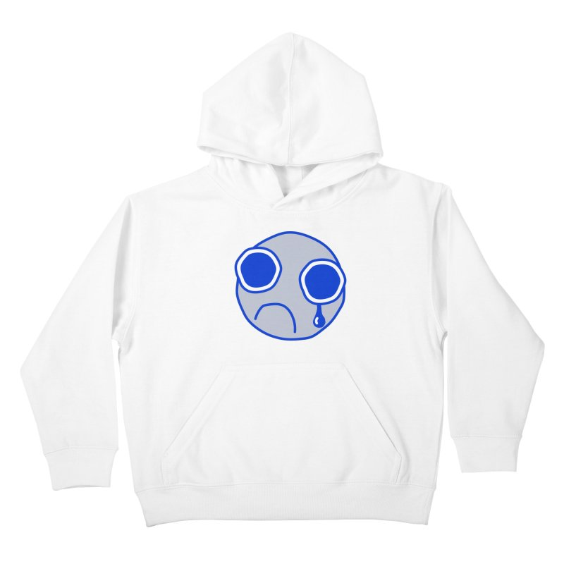 Tfw Sad Face Kids Pullover Hoody by Phancipy's Artist Shop